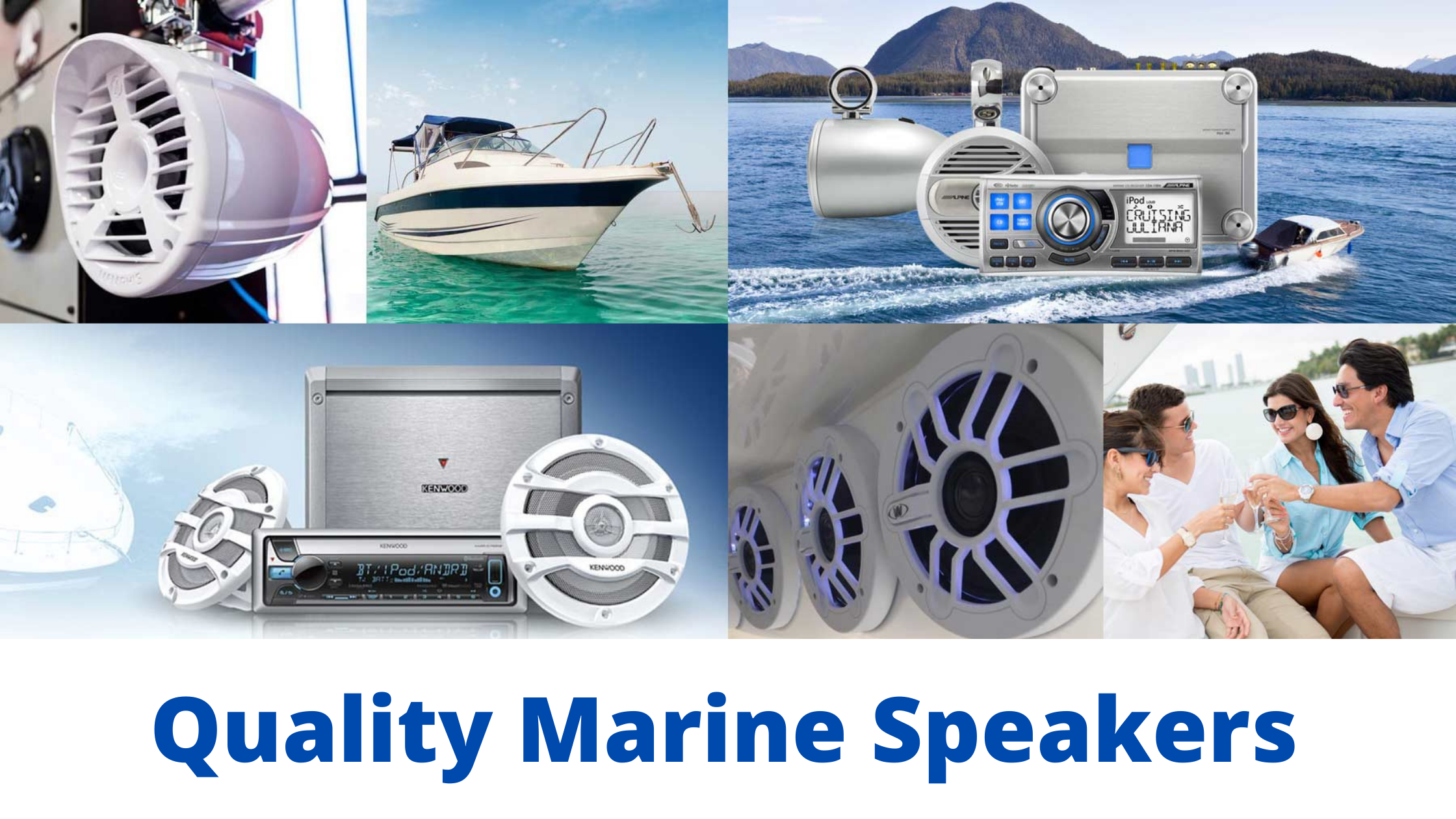 How To Choose The Best Marine Speakers If you are looking for the best marine speakers you may be feeling a little overwhelmed at the wide range of choices available. What can help you to make a good decision? We hope that the clear and simple tips below will come in useful. Tip 1 - Consider The Installation Size Marine speakers can be tricky when it comes to sizes. Sometimes the size quoted by the manufacturer may not be the size you expect. For instance, the measurement that the manufacture gives might be the diameter of the cone inside, in fact, this is usually the case, however, you are not getting a guarantee about the diameter of the grill or the cutout hole. It's good to note that different manufacture sizes will vary even though they may initially appear the same, for instance, a JBL 6 1/2 inch speaker will actually be different when it comes to the cutout diameter to a Magnadyne 6 1/2 inch speaker. Make sure that you know your size limitations very well and ensure that the marine speakers that you purchase are going to be the right fit. Tip 2 - Consider The Speaker Quality There are various options to choose from, the main two being dual cone and coaxial. In general, the coaxial will provide better overall performance than the dual cone. However, they often come with a higher price tag. The size of your budget, as well as your needs, will determine whether the coaxial variants are going to be an option or not. The Bottom Line On Making A Good Choice Of course, there are many other factors to take into consideration when deciding which speakers are going to be the best fit for your needs. For instance, you should also give thought to power handling and consider which of the speakers would be a good fit for your intended purpose. However, if you sit down in advance and inform yourself on the way that speakers are sized then take good note of your own size requirements you are already ticking one very big and important box. After this, take a little more time 